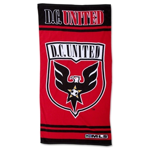 D.C. United Luxury Beach Towel