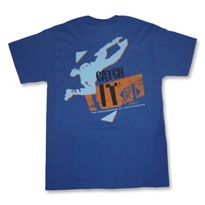 GK1 Catch It Soccer T-Shirt (Royal)
