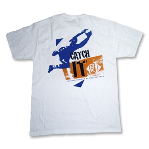 GK1 Catch It Soccer T-Shirt (White)