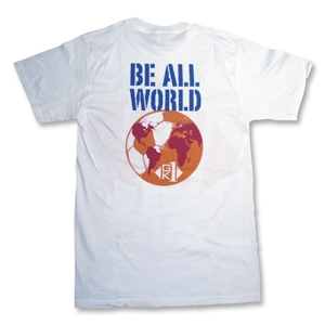 GK1 Be All World Soccer T-Shirt (White)