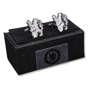 Chelsea Chrome Cufflinks
