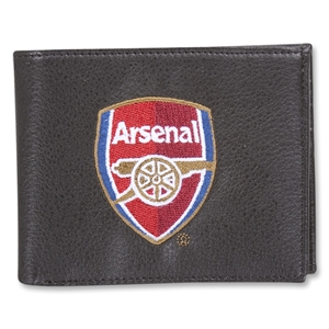 Arsenal Embroidered Crest Wallet