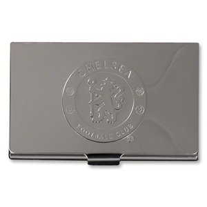 Chelsea Chrome Business Card Holder