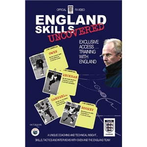 England Uncovered Soccer Training DVD