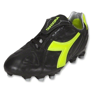 Diadora DD Eleven LT MG 14 Soccer Shoes (Black/Fluo Yellow)
