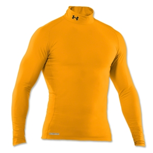 Under Armour ColdGear Game Day Compression Mock (Gold)