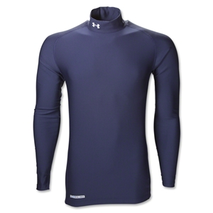UA ColdGear Game Day Compression Mock (Navy)