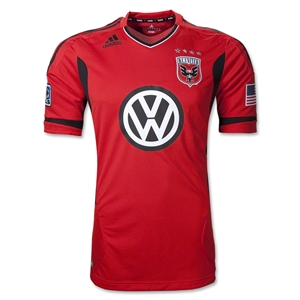 D.C. United 2012 Authentic Third Soccer Jersey