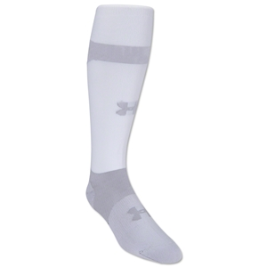 Under Armour Dominate Socks (White)