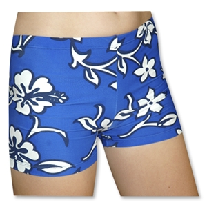 Tuga Sport Shortz Hibiscus (Royal)