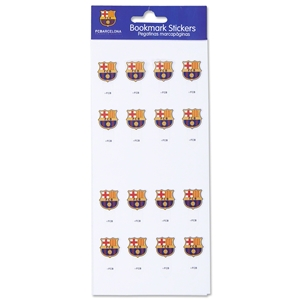 Barcelona Bookmark Stickers
