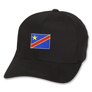 Congo DR Flex Fit Cap (Black)