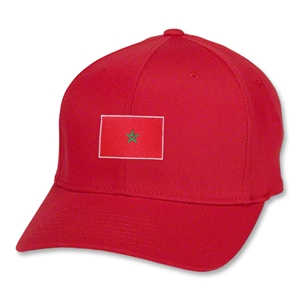Morocco Flex Fit Cap (Red)