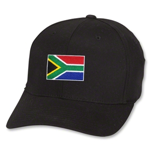 South Africa Flex Fit Cap (Black)