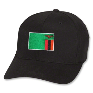 Zambia Flex Fit Cap (Black)