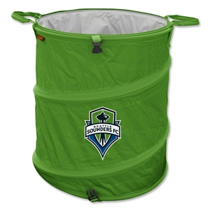 Seattle Sounders Trash Can
