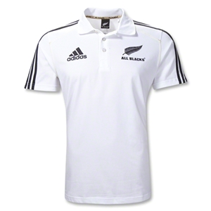 All Blacks Supporter Rugby Polo (White)