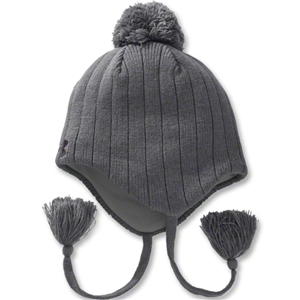Under Armour Hand Knit Ear Flap Beanie (Gray)