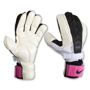 Nike GK Confidence Goalkeeper Glove (White/Pink Flash/Blue Glow)