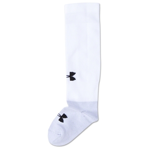 Under Armour Dominate Youth Socks (Wh/Bk)