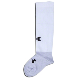 Under Armour Dominate Youth Socks (White)