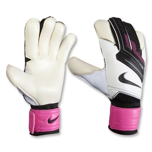 Nike GK Grip3 Goalkeeper Glove (White/Pink Flash)