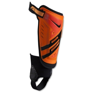Nike Youth Protegga Shield Shinguard (Bright Citrus/Total Crimson/Black)
