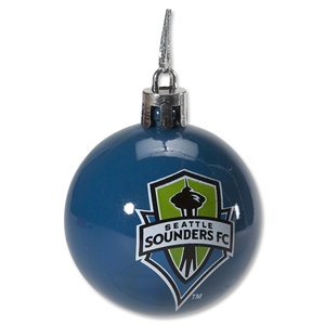 Seattle Sounders 12 Pack Plastic Ball Ornament Set