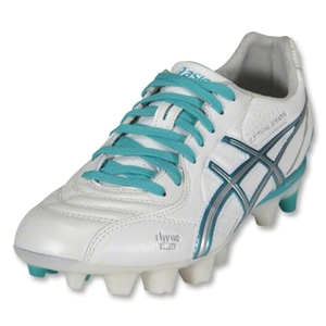 Asics Lethal Stats Women's Cleats (White/Emerald/Silver)
