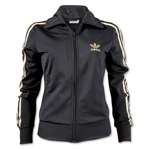 adidas adi Firebird Women's Track Top (Bk/Gold)