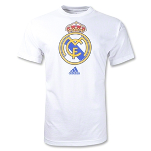 Real Madrid Giant Crest T-Shirt