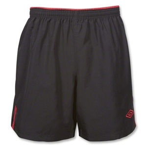 Umbro Braven Short (Black/Red)