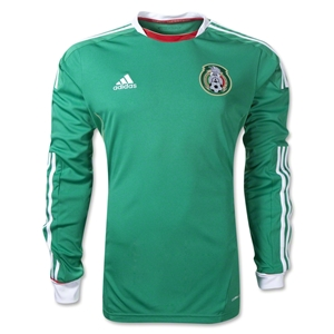 Mexico 11/12 Home Long Sleeve Soccer Jersey