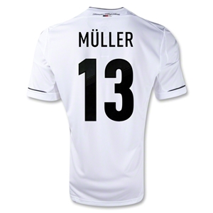 Germany 11/13 MULLER Home Soccer Jersey