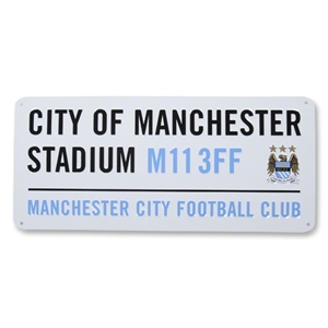 Manchester City 3D Embossed SIgn
