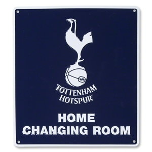 Tottenham Home Changing Room Sign