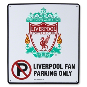 Liverpool No Parking Sign