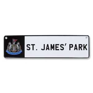 Newcastle 3D Stadium Window Sign
