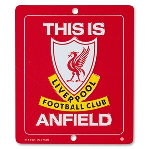 Liverpool This in Anfield Iconic Window Sign