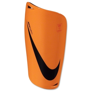 Nike Mercurial Lite 13 Shinguard (bright citrus/total crimson/black)