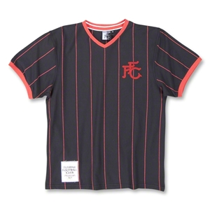 Fulham Retro T-Shirt (Blk/Red)