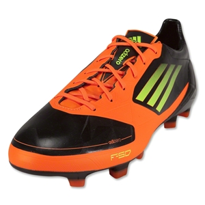 adidas F50 adizero TRX FG Synthetic Cleats (Black/Electricity/Warning)