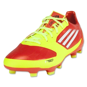 adidas F30 TRX FG Cleats (High Energy/Electricity/White)