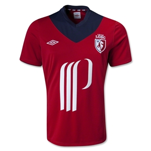 LOSC Lille 12/13 Home Soccer Jersey