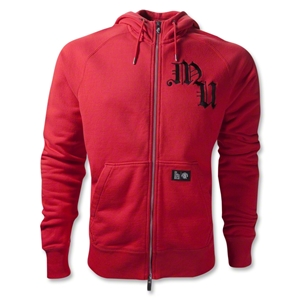 Manchester United 11/12 AW77 Hoody Jacket (Red/Blk)
