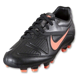 Nike CTR360 Trequartista II Women's FG Cleats (Black/White/Bright Mango/Metallic Dark Grey)
