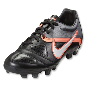 Nike CTR360 Libretto FG Women's Cleats (Black/White/Metallic Dark Grey/Bright Mango)