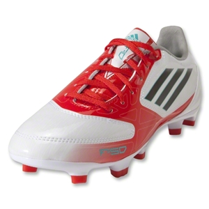 adidas F10 TRX FG Women's Cleats (White/Black/Core Energy)