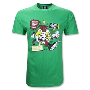 Soccer Is My First Thought T-Shirt (Green)