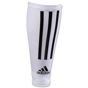 adidas Comrpession Sleeves (White/Black)